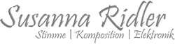 Susanna Ridler Logo