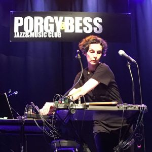 Susanna Ridler performing @ Porgy & Bess